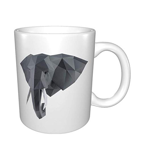 IUBBKI Elephant 3D Fun 11 Oz Coffee Mugs.Humorous Satire.