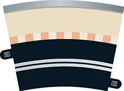 Hornby France - C7017 - Scalextric - Voiture - Rail courbe à 1 voie