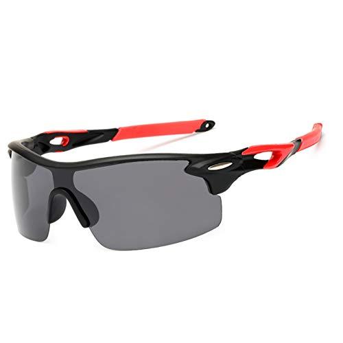 CCGSDJ Gafas De Sol Polarizadas Deportivas Polaroid Gafas De Sol Gafas Uv400 Gafas De Sol A Prueba De Viento para Hombres, Mujeres Pesca Retro De Sol Masculino