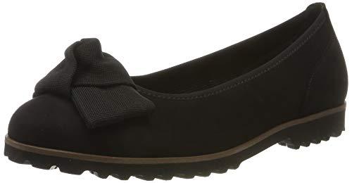 Gabor Shoes Gabor Casual, Ballerines Femme, Noir (Schwarz Uni(Cogn.) 17), 42.5 EU