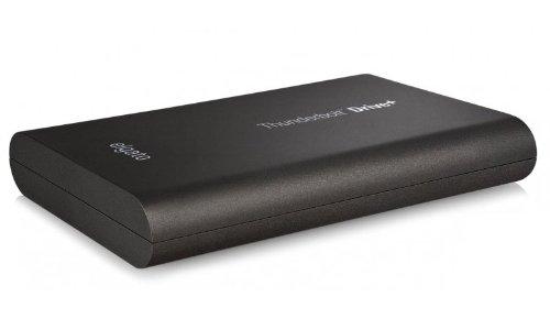 Elgato Thunderbolt Drive+ 512GB mobiler High-Speed Speicher (Thunderbolt & USB 3.0 SSD) Metallgehäuse