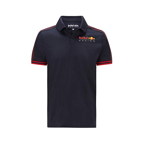 Red Bull Racing - Offizielle Formel 1 Merchandise 2021 Kollektion - Herren - Seasonal Polo - Kurze Ärmel - Navy - L