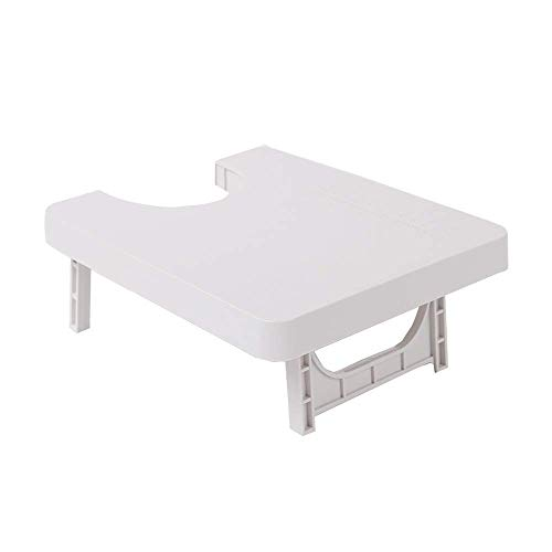 """FSFTTRAD Portable Extension Table for Sewing Machine 9.44""""x7.8""""x2.4"""" (White)"""