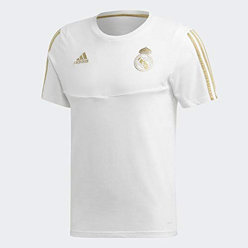 adidas Herren Real Madrid T-Shirt, White/Drfogo, M