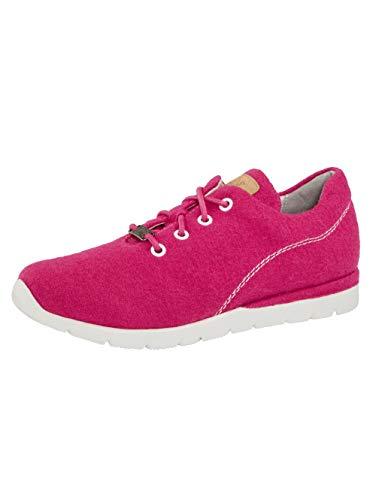 Jana Sneaker aus hochwertiger Merino-Wolle Pink