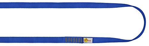 ALIENS Bandschlinge Open Sling (Bruchlast 22 kN/2200kg, 16 mm Breite) Verschiedene Längen in unterschiedlichen Farben, Farbe:80 cm blau
