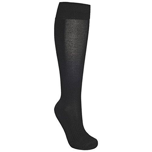 Trespass Mens Exhale Long Length Hiking Boot Socks (7/11 UK) (Black)