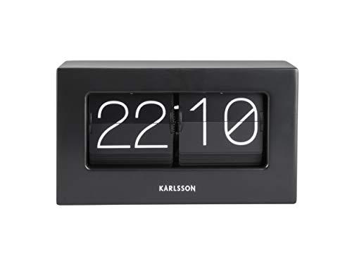 Karlsson Present Time - Orologio da tavolo, colore: Nero