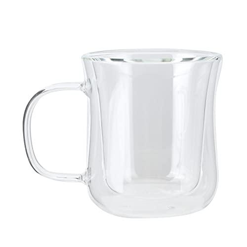 Taza para Bebidas, diseño de Doble Capa Taza de café Inodoro Resistente al Calor para cafeterías para Salas de Estar