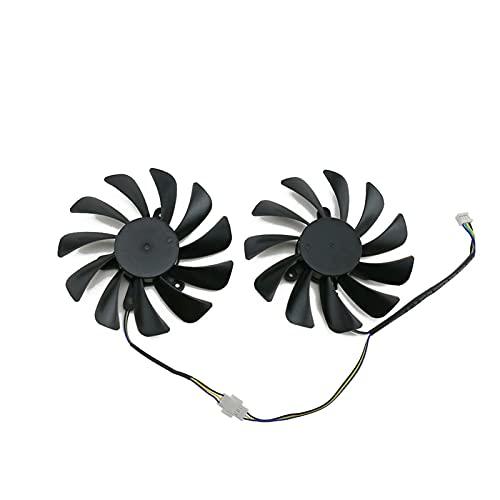 Jinyouqin 2 Teile/los 95mm Kühlerlüfter Ersetzen für ZOTAC für GeForce GTX 1070TI 1080 TI GTX1070 TI GTX1080TI AMP Edition Grafikkartenkühlung Lüfter