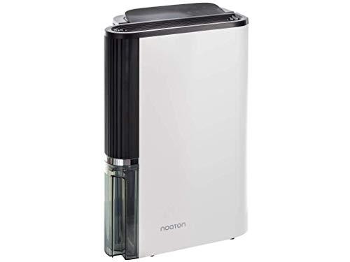 NOATON Deshumidificador y purificador de Aire DF 4123 HEPA - hasta 50 m2 / Depósito 4,5 litros/Filtro HEPA/Desagüe Continuo