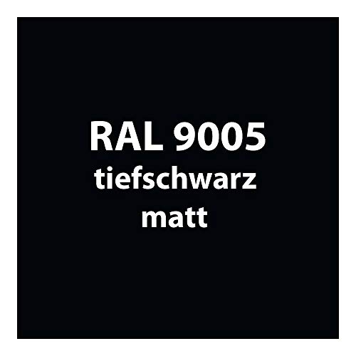 250 g Pulverlack Beschichtungspulver Pulverbeschichtung pulverbeschichten PG 1 (RAL 9005 tief-schwarz matt)