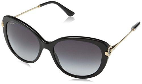 Bulgari 0BV8194B 501/8G 57 Gafas de sol, Negro (Black/Gradient), Unisex-Adulto