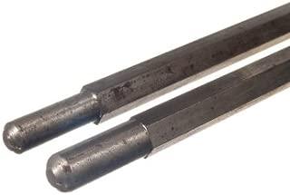 GDN Garage Door Winding Bars Pair (Hex)