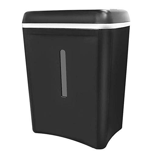 Best Bargain JNWEIYU Cross-Cut Paper Shredder, Low-Energy Silent Mute Paper Shredder for Home Small ...