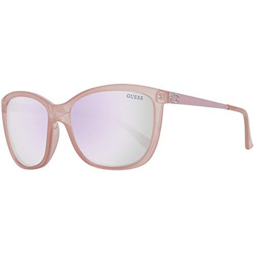 Guess Sonnenbrille Gu7444 72C 58 Gafas de sol, Beige (Koralle), 58.0 para Mujer