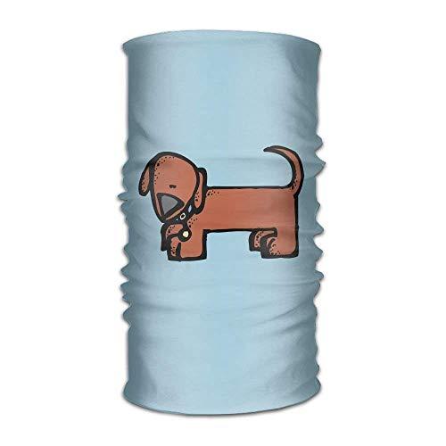 shenhaimojing Headwear Headband Weiner Dog Head Scarf Wrap Sweatband Sport Headscarves for Men Women