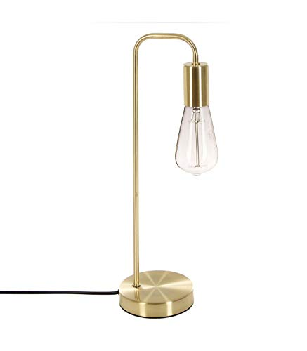 Tischlampe aus METALL - stylisch und originell - Farbe GOLD