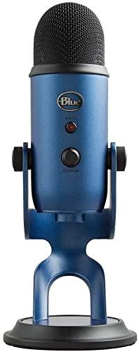 Blue Micrófono USB profesional Yeti para grabación, streaming, podcasting,...