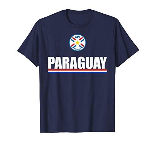 Paraguayan Football Souvenirs Bandera de Paraguay Triband Camiseta