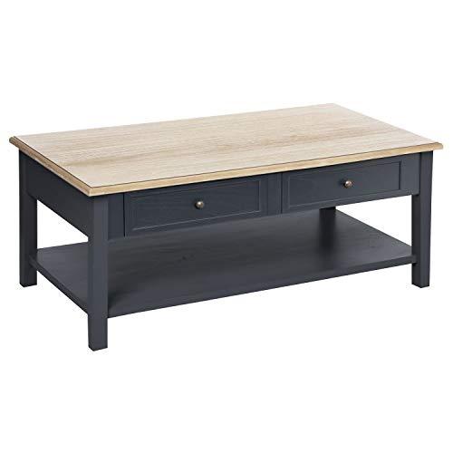 Atmosphera Table Basse Damian Gris foncé