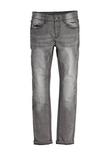 s.Oliver Jungen Regular Fit: Slim Leg-Denim aus elastischer Qualität Grey Stretched den 164.Big