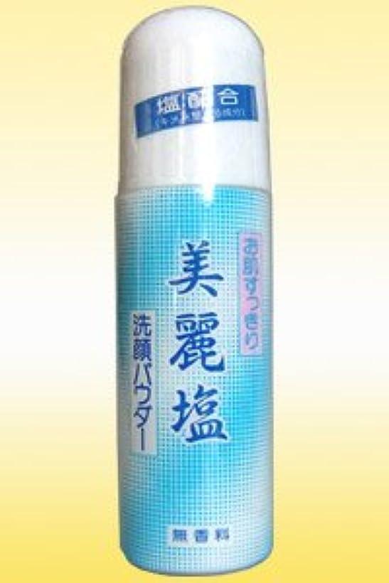 グリース既婚マニフェストニード美麗塩洗顔パウダー(140g)塩で引締めお肌スリム