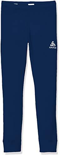 Odlo Kinder BL Bottom Long Active WARM Kids Unterhose, Estate Blue, 140