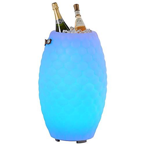 The Joouly 65 Limited - Bluetooth Lautsprecher mit Licht in 9 wechselbaren Farben, per App steuerbar, Getränkekühler, 8.800 mAh Akku (ca. 11 Std. Laufzeit), JOOULYs koppelbar, Mod. 2020