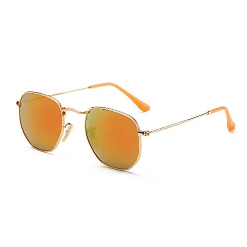 SUIBIAN Gafas de Sol Hombre Mujer Espejo Señora Mujer Gafas de Sol UV400