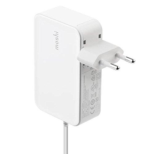 Carregador MOSHI ProGeo USB-C em Branco