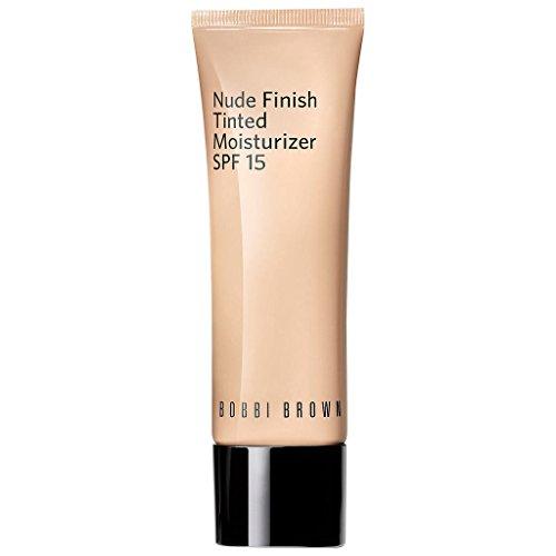 Bobbi Brown Nude Finish Tinted Moisturizer SPF 15 Light Tint for Women, 1.7 Ounce