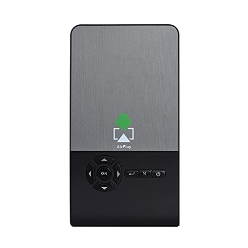 SGZYJ Mini Proyector DLP WiFi Bluetooth Proyector portátil LED DLP Beamer Soporte...