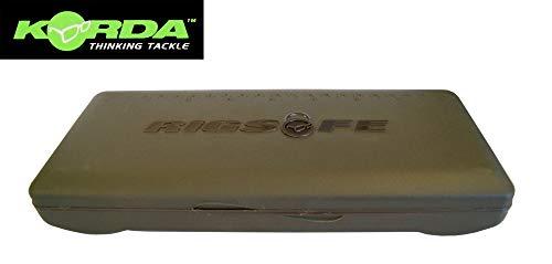 Korda Rigsafe Combi - Tacklebox für Karpfenvorfächer, Angelbox für Karpfenmontagen, Box für Vorfächer zum Karpfenangeln, Rigbox