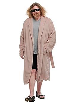 The Dude Bathrobe The Big Lebowski Costume Men s Robe Large Brown