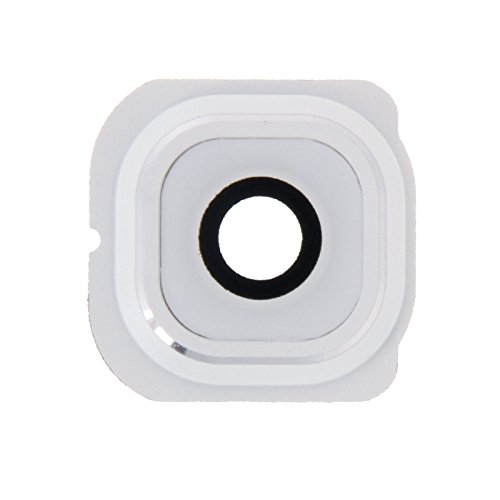 IPartsBuy Camera Lens Cover for Samsung Galaxy S6 Edge / G925 Accessory Verwisselbare Replacement (Color : White)