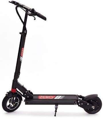Trottinette électrique pliable ZERO 8, gamme 30-35 Km, vitesse maximale 40 Km/h, moteur 500 W, roues 8′′ (noir)