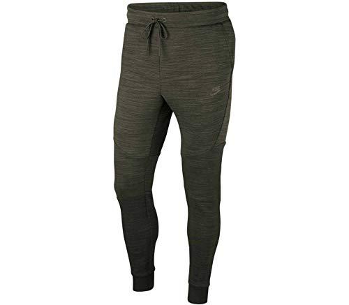 NIKE CT7745-355 Pantalones Largos Deportivos Tech Fleece para Hombre, Sequoia/Cargo Khaki/Black, 2XL