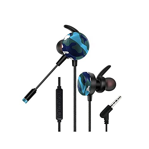 SWISSWAY GM-D4 Auriculares Gaming Xbox One, PS5, PS4, PC, con MICRÓFONO Separado CONECTAR AL Gusto, (Azul)