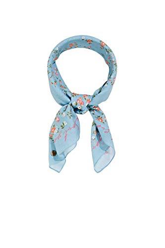 ESPRIT edc by Accessoires Damen 021CA1Q304 Mode-Schal, 440/LIGHT Blue, 1SIZE