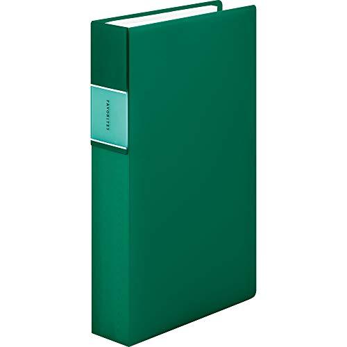 キングジム 名刺ファイル フェイバリッツ 240P 緑 FV22TWミト FV22TWミト