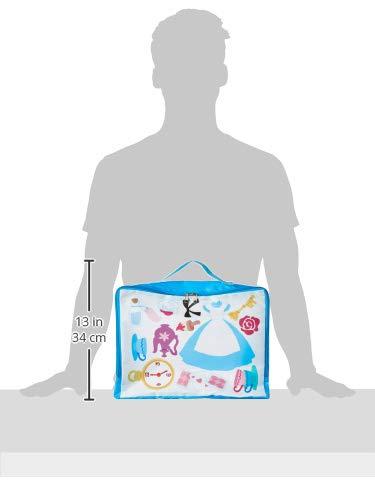 DisneyCollection(ディズニーコレクション)トラベル収納バッグMアリス,ホワイト×ブルー