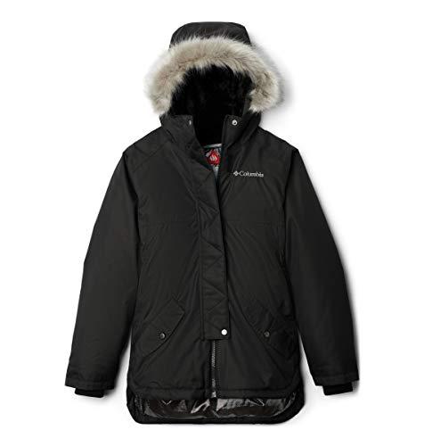 Columbia Sportswear Mädchen Hardshelljacke Carson Pass Mid Jacke, Black, XXS, 1801331