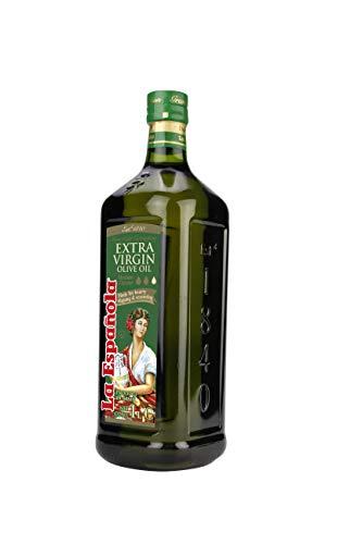LA ESPAÑOLA- Aceite de Oliva Virgen Extra clásico origen España Botella cristal 1L