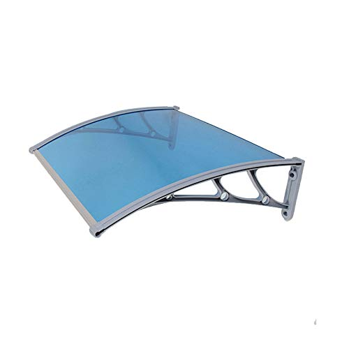 LINGZE Door Canopy Polycarbonate Awning, Rain Cover Suitable for Window Door Pathway Walkway Garden Shed Porch Patio