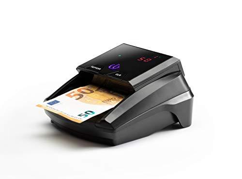 Detector de billetes falsos. Countermatic. Incluye bateía