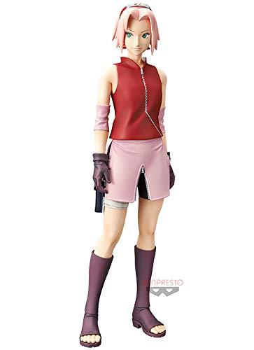 Banpresto. Naruto Shippuuden Figure Haruno Sakura Grandista Shinobi Relations Ahora Disponible!