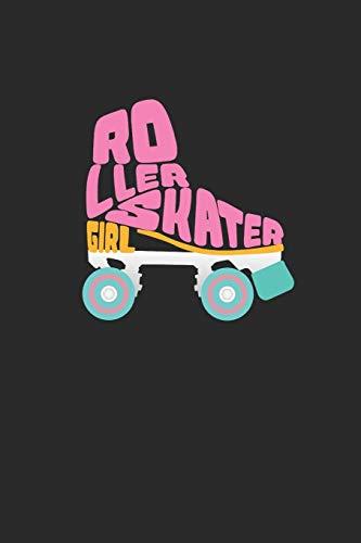 Roller Skater Girl: A5 Notizbuch kariert als Geschenk für Mädchen die Rollschuh Fahren Lieben