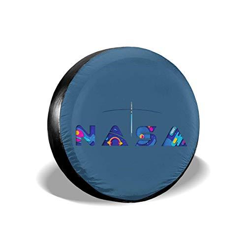 GOSMAO Cubierta de neumático Cubierta Universal de Rueda de Repuesto Cubiertas de Rueda para Remolque RV SUV Camión Remolque de Viaje 15 Pulgadas-AS