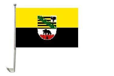 Autoflagge Sachsen-Anhalt  30 x 40 cm